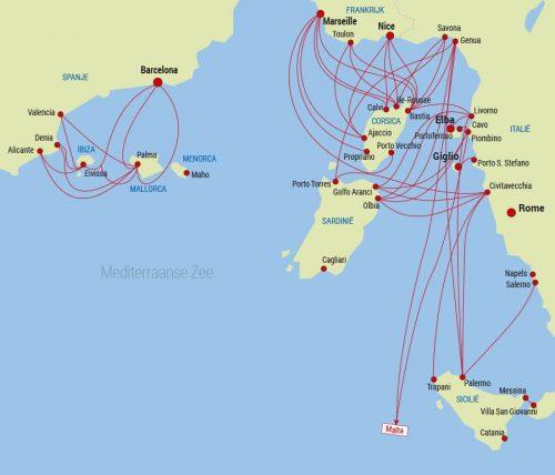 comment aller en Corse - Traversee Corse